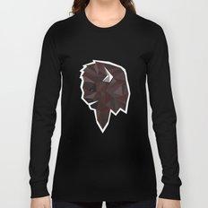 Geometrical Bison Long Sleeve T-shirt