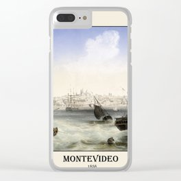 Montevideo 1858 Clear iPhone Case