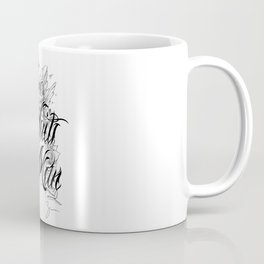 Chicano Lettering - Time Waits For No Man Coffee Mug