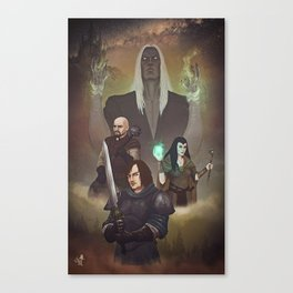 Dungeon Warriors Canvas Print