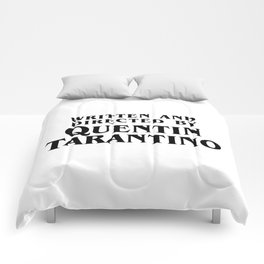 Written and Directed Comforters