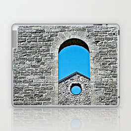 Through a Wall - The Peace Collection Laptop & iPad Skin