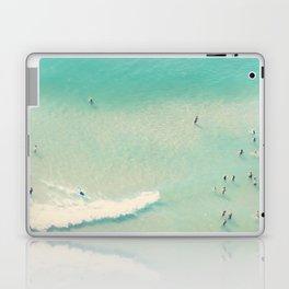 beach summer waves Laptop & iPad Skin