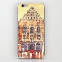 takmaj iPhone & iPod Skins featuring Poznań by takmaj