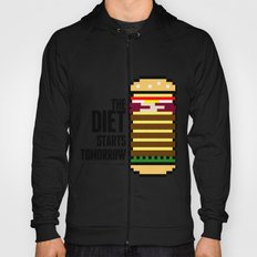 Diet Burger Hoody
