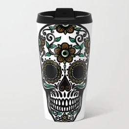 Sugar Skull 6 Travel Mug
