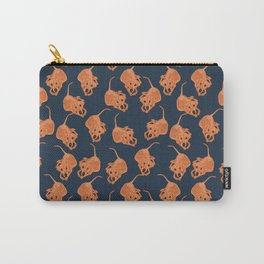 Crimmy Pattern Carry-All Pouch