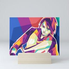 SasukeUchiha Mini Art Print