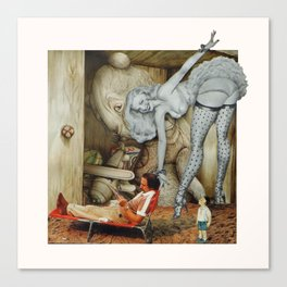 The Curious Curio Canvas Print