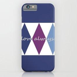 love always. iPhone Case