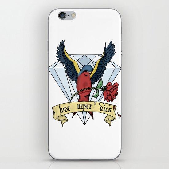 Love Never Dies swallow iPhone Skin