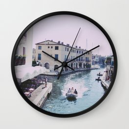 Holiday in the Sun Wall Clock