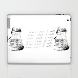 I Am What I Eat - Coffee Laptop & iPad Skin