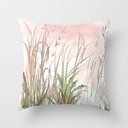 Swamp Love Throw Pillow