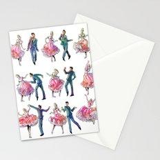 Sock Hop Stationery Cards
