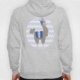 Winter Llama Hoody