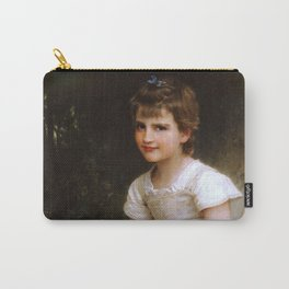 """William-Adolphe Bouguereau """"A Calling"""" Carry-All Pouch"""