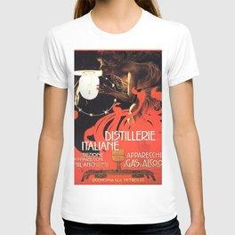 Vintage poster - Distillerie Italiane T-shirt