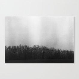 Hazy Dawn Canvas Print