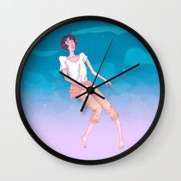 CLOUD ATLAS Wall Clock