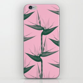 Strelitzia Alba iPhone Skin