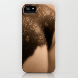 Racey Lacey - Sexy iPhone Case