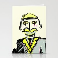 gentleman Stationery Cards featuring Gentleman by Rimadi
