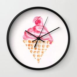 ICECREAM Wall Clock