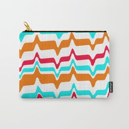 Wavy stripes Carry-All Pouch