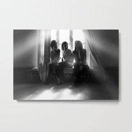 trio Metal Print