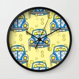 Cute Commute Wall Clock