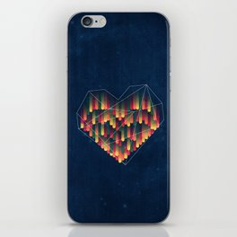 Interstellar Heart II iPhone Skin