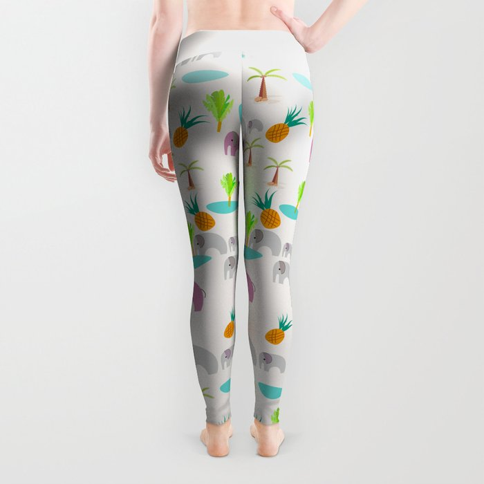 Pink Elephants Leggings