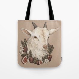 Goat and Figs Tote Bag