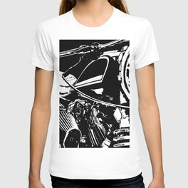 """""""Motorcycle engine"""" - Classic Cars Lovers T-shirt"""