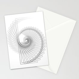 """""""Fly Collection"""" - Abstract Minimal Letter E Print Stationery Cards"""