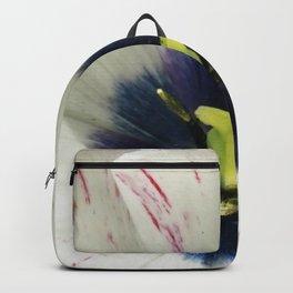 Blue Centered Tulip Backpack