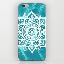 Water Mandala iPhone Skin