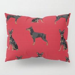 Miniature Doberman Pinscher dog breed pure breed unique pet gifts Pillow Sham