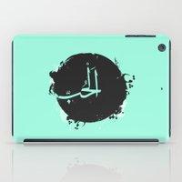 arabic iPad Cases featuring LOVE Arabic by elyinspira