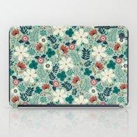 garden iPad Cases featuring Flower Garden by Anna Deegan