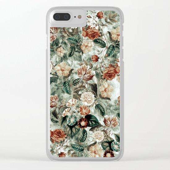 Botanical Garden VII Clear iPhone Case
