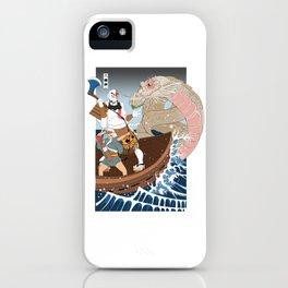 Ukiyo-e of War iPhone Case