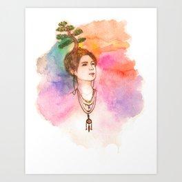 shinee - taemin [ the harmony ] Art Print