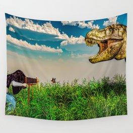 Wildlife Photographer Photo Bomb Wall Tapestry