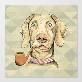 My little dog Canvas Print