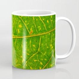 Macro Leaf 3 Coffee Mug