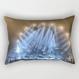 Silver & Gold Concert Rectangular Pillow