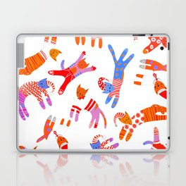 Oh Cats in Hats, it's Christmas! Laptop & iPad Skin