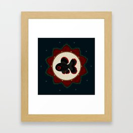 Butterfly goldfish Framed Art Print